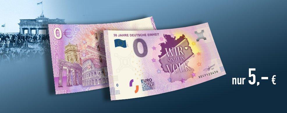 MDM - 0-Euro-Banknote 30 Jahre Deutsche Einheit