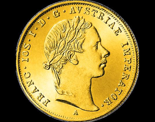 4er Komplett Set Die Kaiser österreichs In Gold Mdm Deutsche Münze