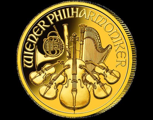 Gold Philharmoniker Aus österreich Mdm Deutsche Münze