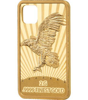 "Gold-Münzbarren ""Jewelry Investment - Eagle"""