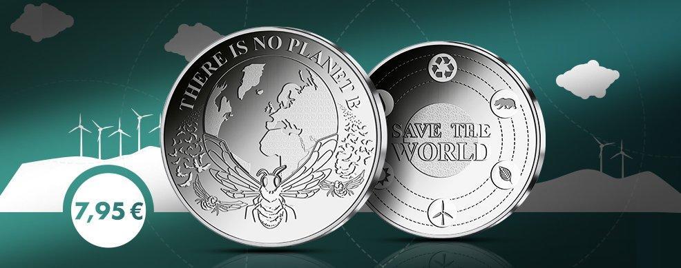 MDM - Sonderprägung Save the World 2019
