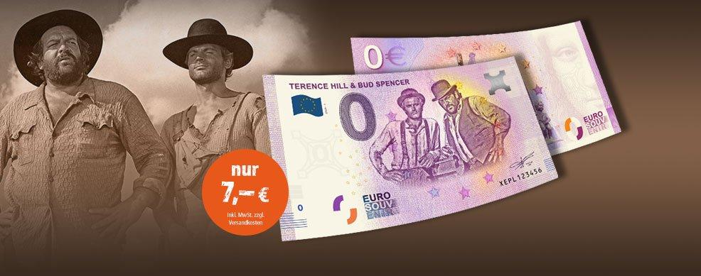 MDM - 0-Euro-Banknote Terence Hill & Bud Spencer
