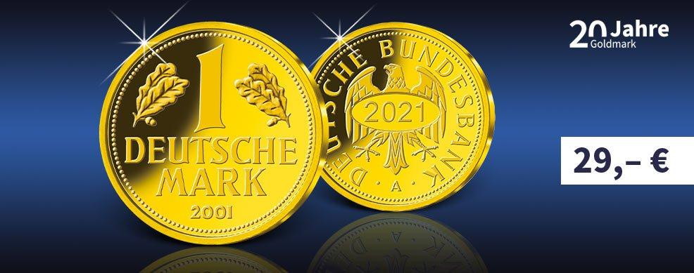 MDM - Gold-Gedenkprägung Goldmark 2021