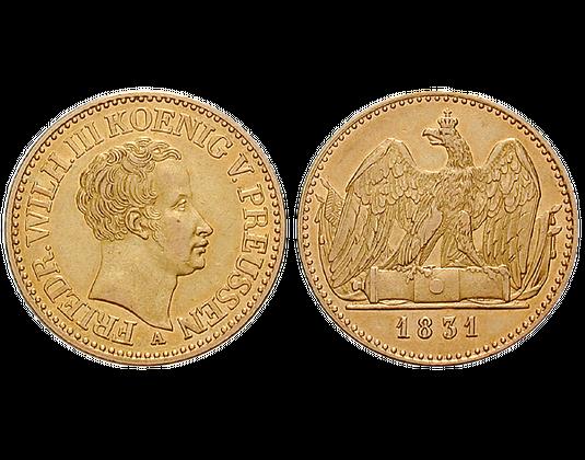 Altdeutschland Doppelter Friedrichs Dor 1825 1840 Friedrich