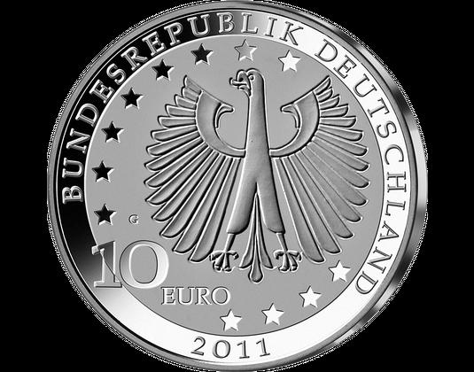 10 Euro Münze 200 Geburtstag Franz Liszt Mdm Deutsche Münze