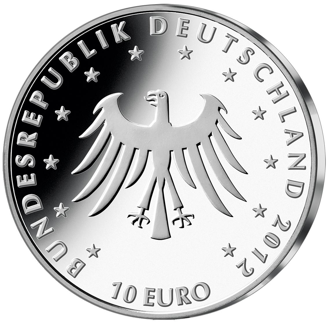 10 Euro Münze Brd 200 Jahre Märchen Der Gebrüder Grimm 2012 10