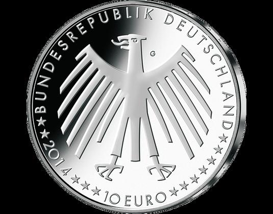 10 Euro Münze 2014 Hänsel Und Gretel Mdm Deutsche Münze