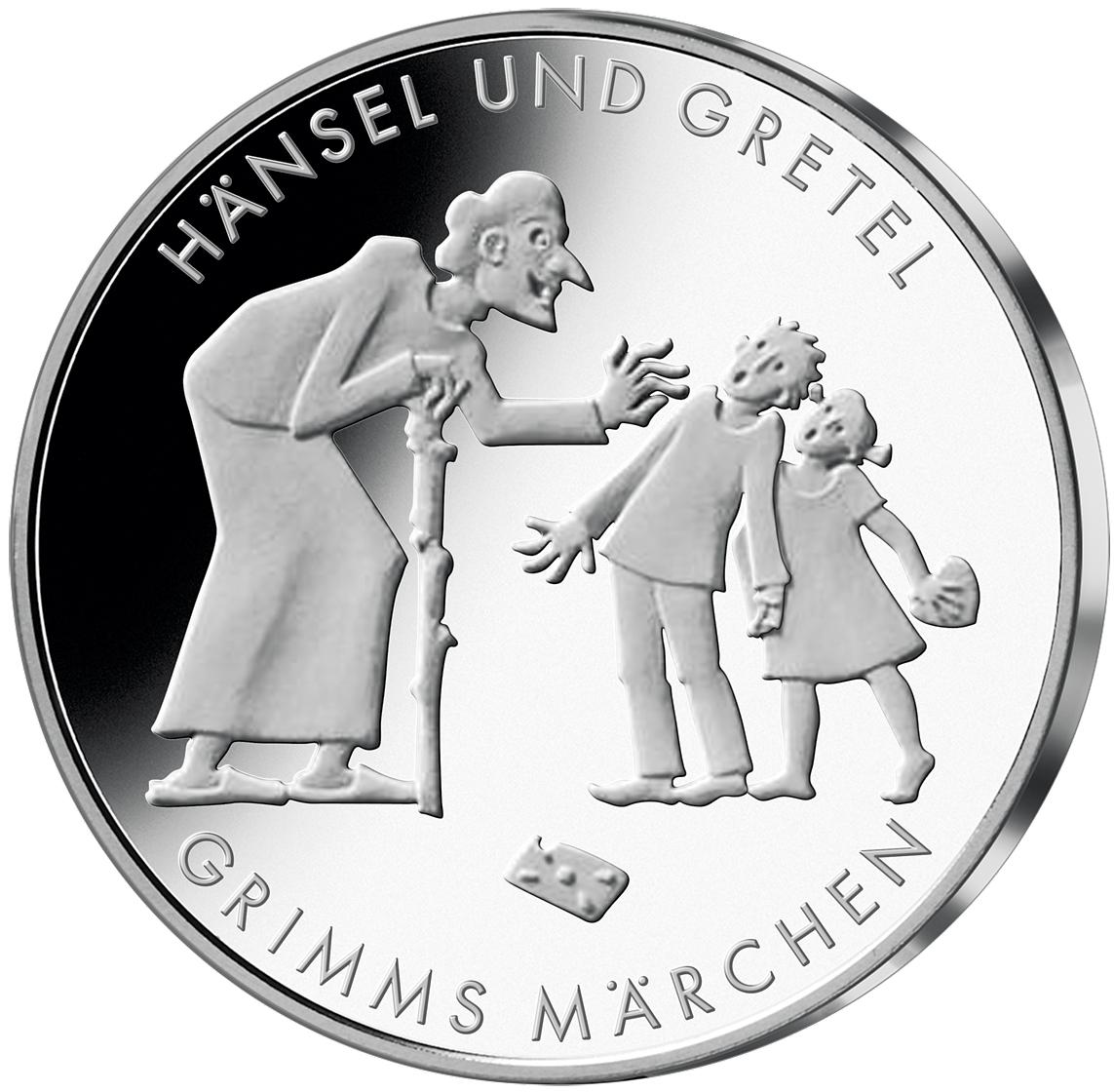 10 Euro Münze Hänsel Gretel Brd 2014 Münzen Günstigerde