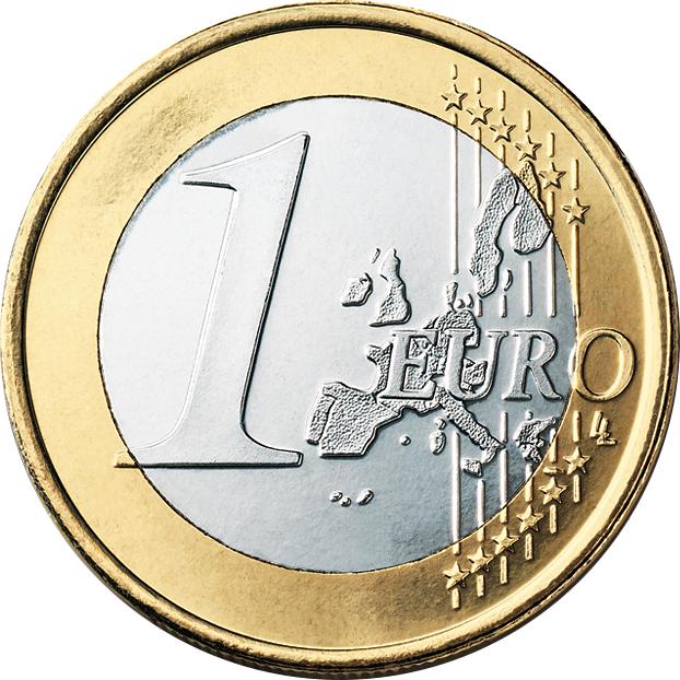 1 Euro Vorderseite 1999-2007