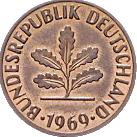 2 Pfennigmünze, Motivseite