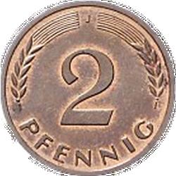 2 Pfennig, Prägestätte J