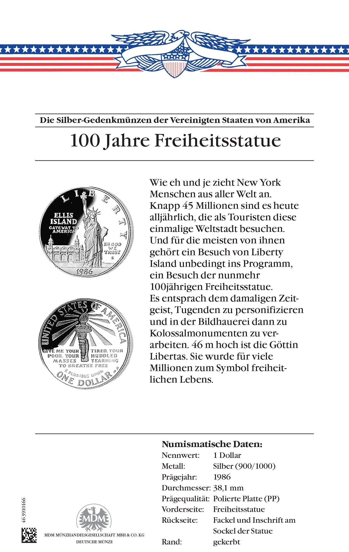 Berühmteste Silberdollars Usa Mdm Deutsche Münze