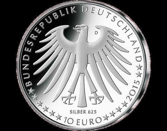 10 Euro Münze 2015 Dornröschen Mdm Deutsche Münze