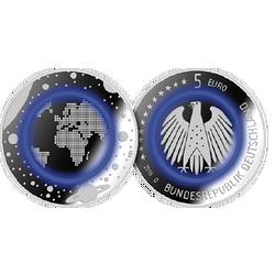 Erste 5 Euro Gedenkmünze Aus Deutschland Mdm Deutsche Münze