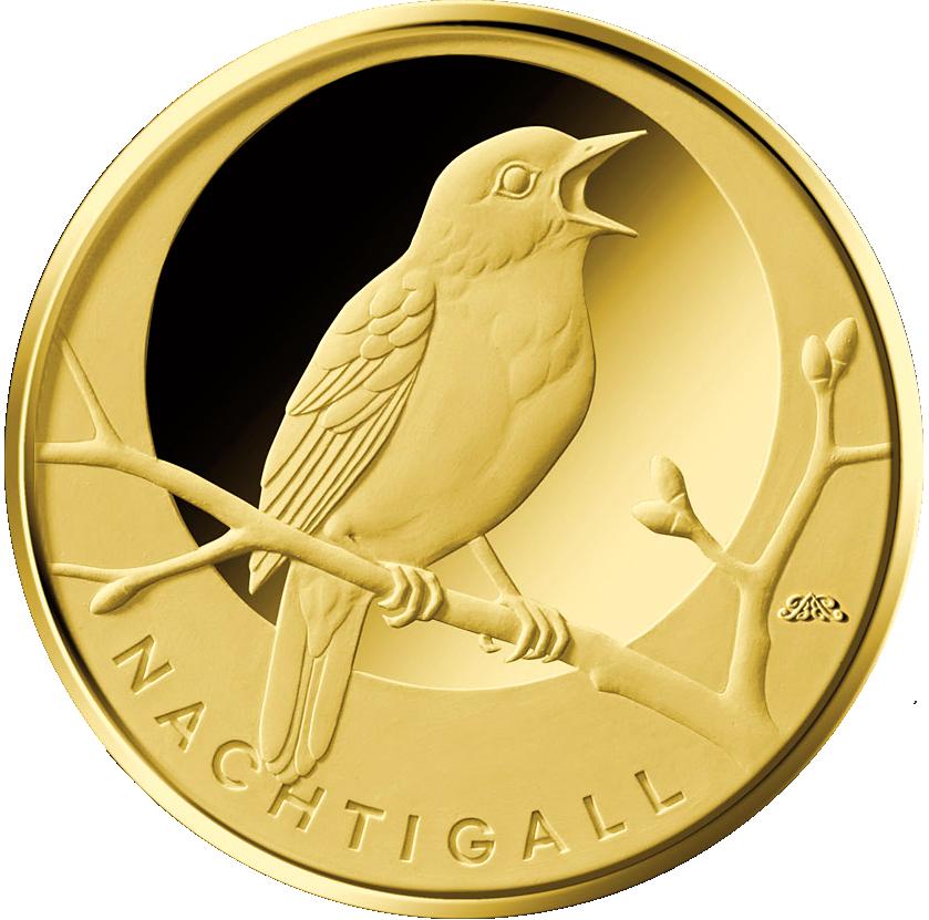 Neue 20 Euro Goldmünzenserie Heimische Vögel Mdm Deutsche Münze