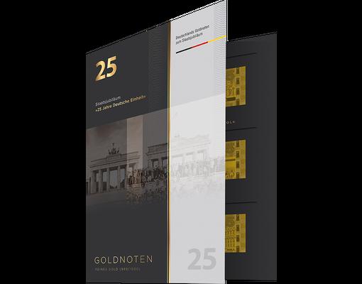 Goldnoten Deutsche Einheit Mdm Deutsche Münze