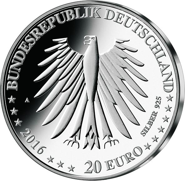 20 Euro Silber Münze Rotkäppchen 2016 Münzen Günstigerde