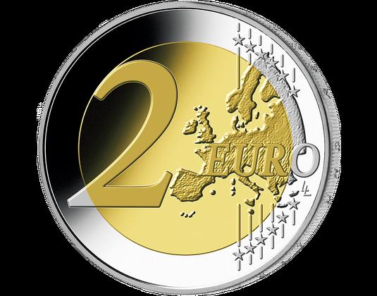 2 Euro Service Flat Mdm Deutsche Münze