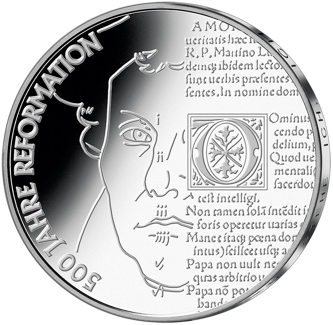 20 Euro Silber Münze 500 Jahre Reformation 2017 St Münzen Günstigerde