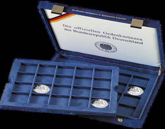 Münzkassette 10 Euro Münzen Polierte Platte Mdm Deutsche Münze