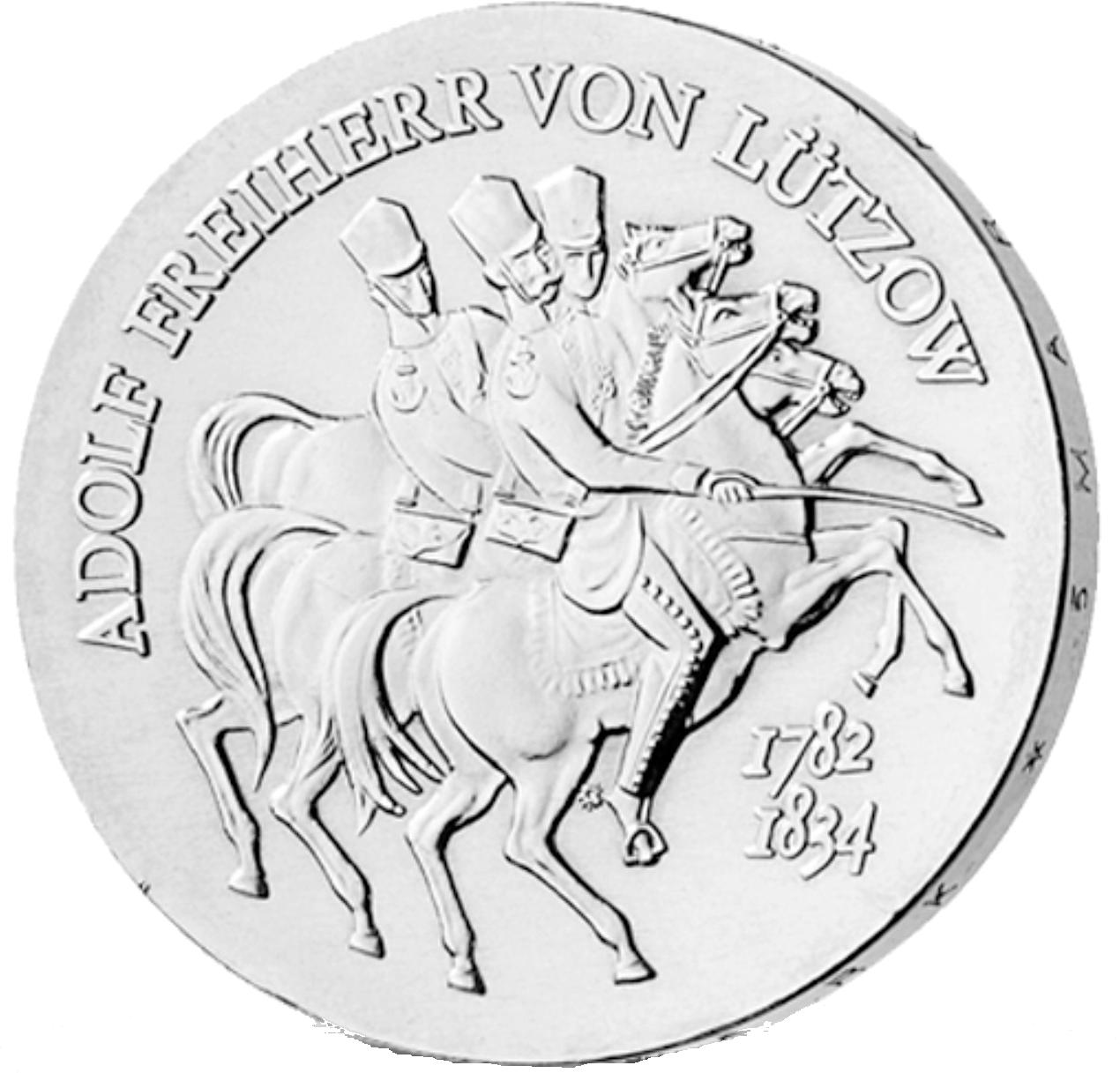 5 Mark Neusilber Lützow Ddr1984 Münzen Günstigerde