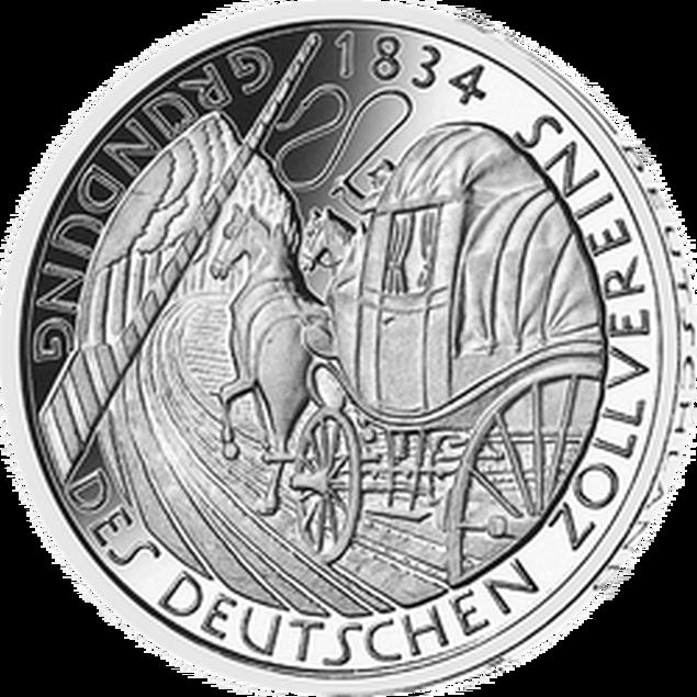 Gedenkmünze Gründung Zollverein