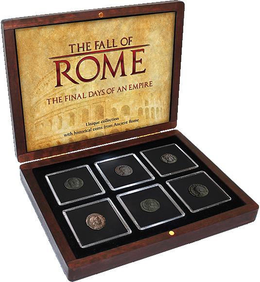 Bronzemünzen Set Der Untergang Roms Münzen Günstigerde