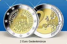 2 Euro Gedenkmünzen