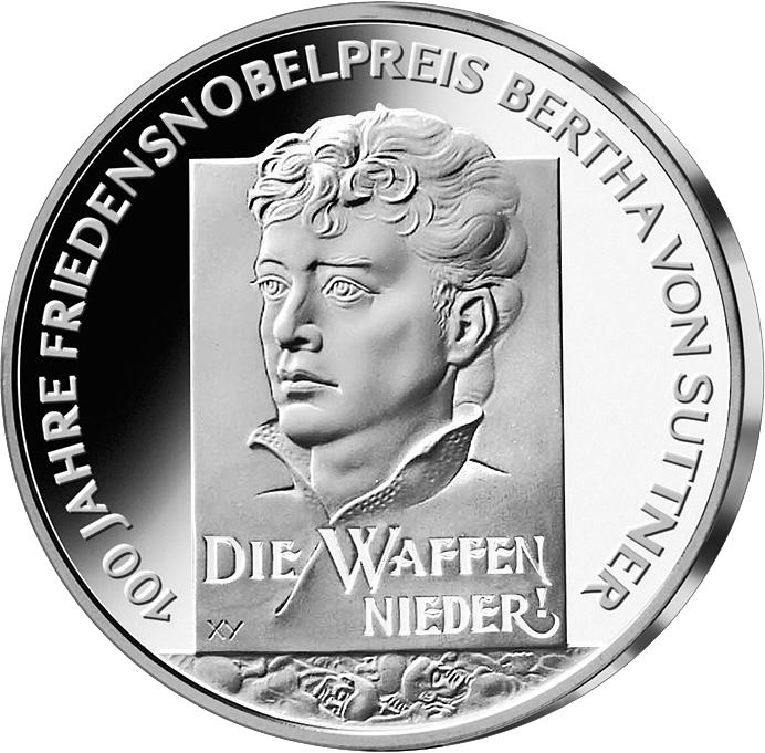 10 Euro Silber Münze Brd Bertha V Suttner 2005 10 Euro Münzen