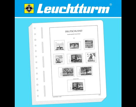 Leuchtturm Vordruckblätter Deutsches Reich Böhmen Und Mähren 1939