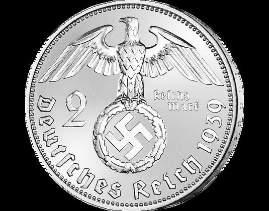Silbermünze Paul Von Hindenburg Mdm Deutsche Münze