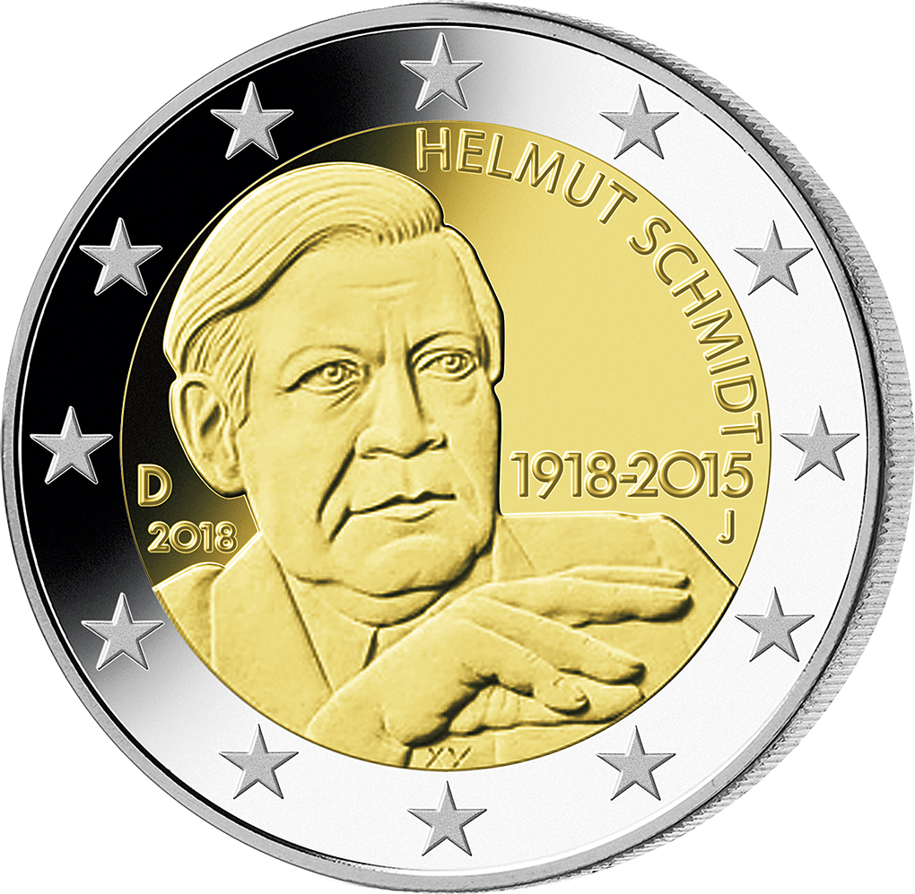 100 Geburtstag Von Helmut Schmidt Aus Edlem Silber Startlieferung