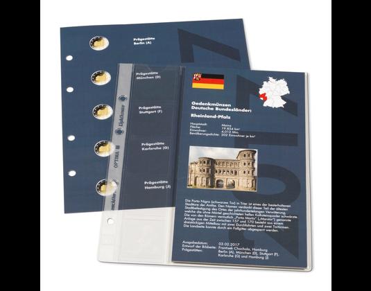 Nachtrag 2017 Für Classic Album Für Dt 2 Euro Gedenkmünzen