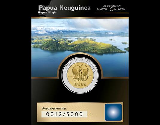 2 Kina Bimetallmünze Aus Papua Neuguinea Mdm Deutsche Münze