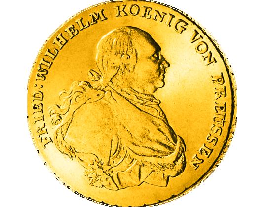 Friedrich d'or Vorderseite
