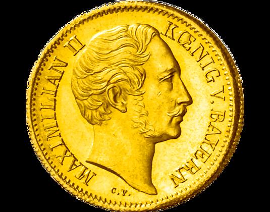 Goldmünze König Von Bayern Maximillian Ii Mdm Deutsche Münze