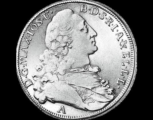 Taler Kurfürst Maximilian Iii Joseph Mdm Deutsche Münze