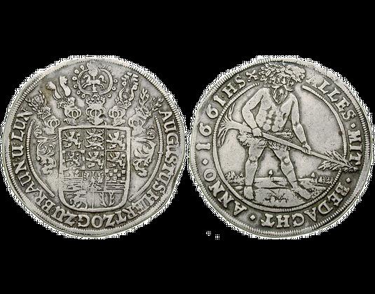 Altdeutschland Taler 1653 1666 August Der Jüngere Braunschweig