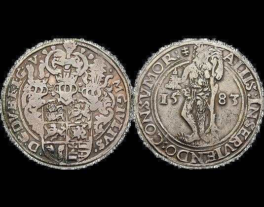 Altdeutschland Taler 1570 1588 Julius Braunschweig Lichttaler