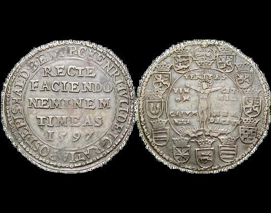 Altdeutschland Taler 15971598 Heinrich Julius Braunschweig