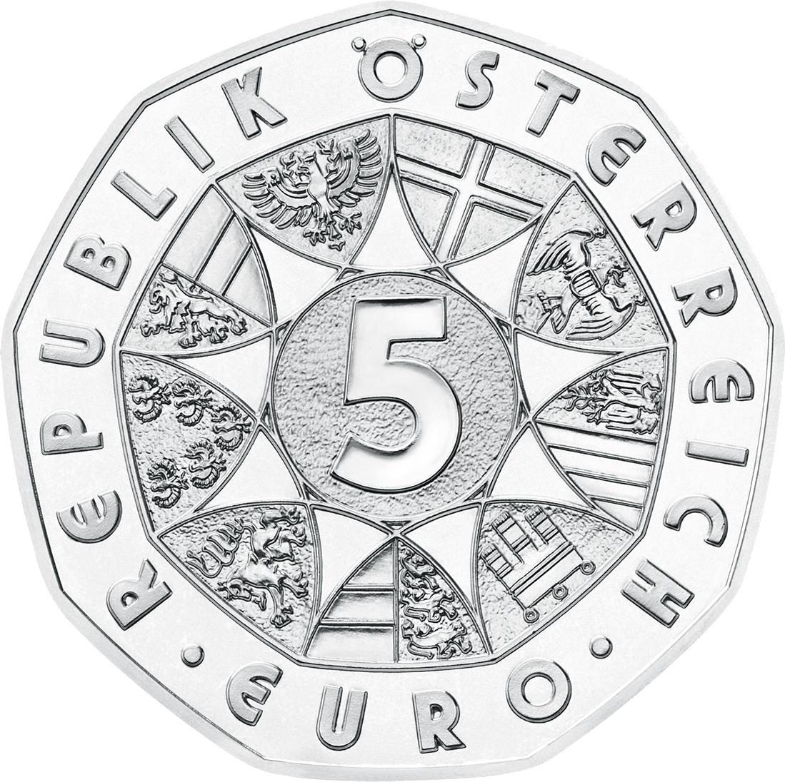 5 Euro Silber österreich Dürers Feldhase 2016 österreich Euro
