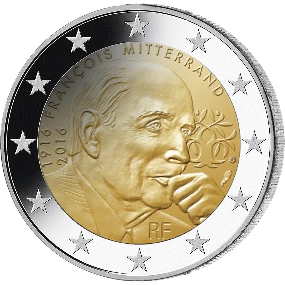 2 Euro Münzen Frankreich 2021