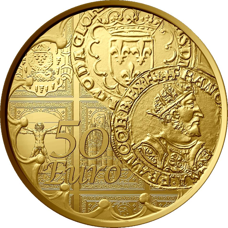 50 Euro Gold Frankreich Die Säerin 2016 Frankreich Euro Münzen