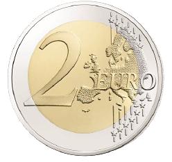 2 Euro Münze Frankreich Francois Mitterrand 2016 Bfr Münzen