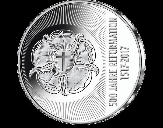 Goldmark 2017 Und Gedenkprägung 500 Jahre Reformation Mdm