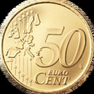 50 Cent Vorderseite 1999