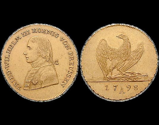 Altdeutschland Friedrichs Dor 1797 1798 Friedrich Wilhelm Iii
