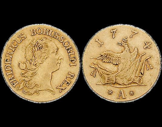 Altdeutschland Friedrichs Dor 1764 1776 Friedrich Ii Friedrich
