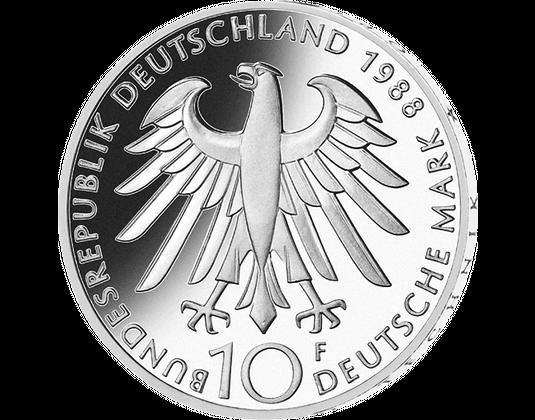 10 Dm Münze 1988 Carl Zeiss Mdm Deutsche Münze