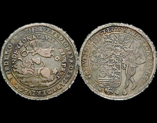 Altdeutschland Taler 1596 1597 Heinrich Julius Braunschweig